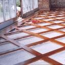 oak trellis flooring
